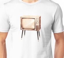 Stylish Retro Television (from the Vintage Magazine series) Unisex T-Shirt