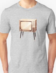 Stylish Retro Television (from the Vintage Magazine series) Unisex T-Shirt