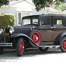 '31 Ford - Model A  by Gloria Abbey