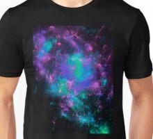 Rainbow fractals space  Unisex T-Shirt