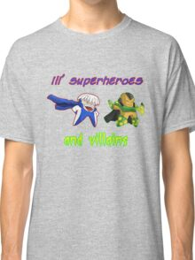 lil' heroes and villains: getic and surge... Classic T-Shirt