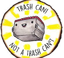 Trash Can! by taliaAF