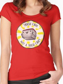 Trash Can! Women's Fitted Scoop T-Shirt