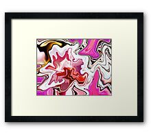 Brilliant abstract Framed Print