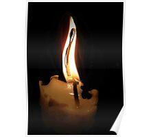 Flaming woman Poster