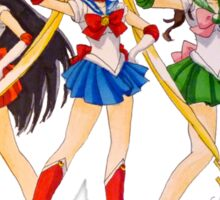 Sailor Scouts Sticker
