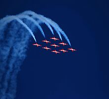 Canadian Snowbirds tumble by N2Digital