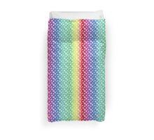 Rainbow Stars Duvet Cover, Leggings, Pillow and Tote Duvet Cover