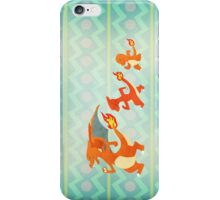 Fire starters - Pokemon (Gen1) iPhone Case/Skin
