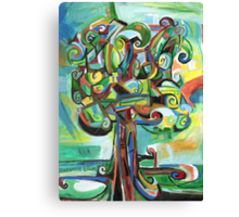 Lyrical Tree Canvas Print