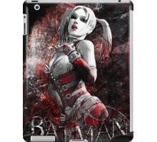 Batman Arkham City Harleyquinn iPad Case/Skin