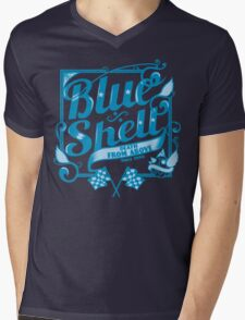Shelled from above Mens V-Neck T-Shirt