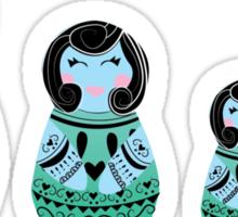 Russian Dolls Sticker