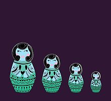 Russian Dolls by Mariah Peek
