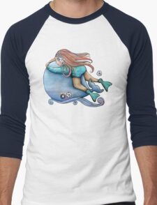 Save Our Whales TShirt Men's Baseball ¾ T-Shirt