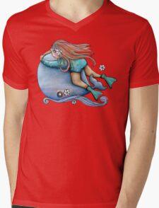 Save Our Whales TShirt Mens V-Neck T-Shirt