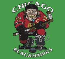 Chicago Blackhawk Skate or Die Kids Clothes