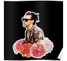 Harry Styles Man Bun  Poster