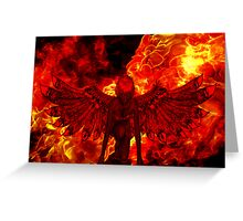 Red Devil Greeting Card