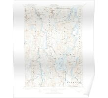 Maine USGS Historical Map Livermore 460573 1910 62500 Poster