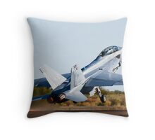 Super Hornet! Throw Pillow