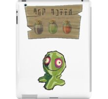 Chu Jelly Juice (Green Chu) iPad Case/Skin