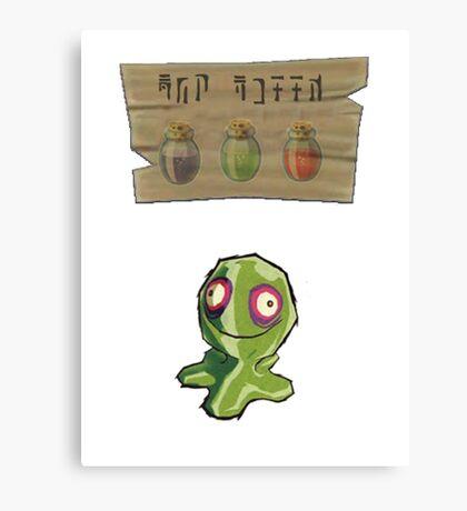 Chu Jelly Juice (Green Chu) Canvas Print