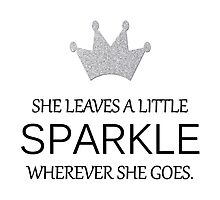 She Leaves a Little SPARKLE Wherever She Goes by CraftyCreepers