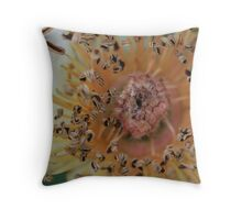 Exploding Curl Throw Pillow