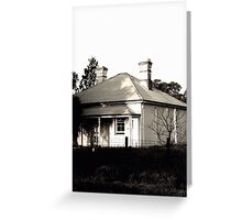Abandoned Caretaker's Cottage Greeting Card