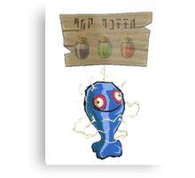 Chu Jelly Juice (Blue Chu) Metal Print