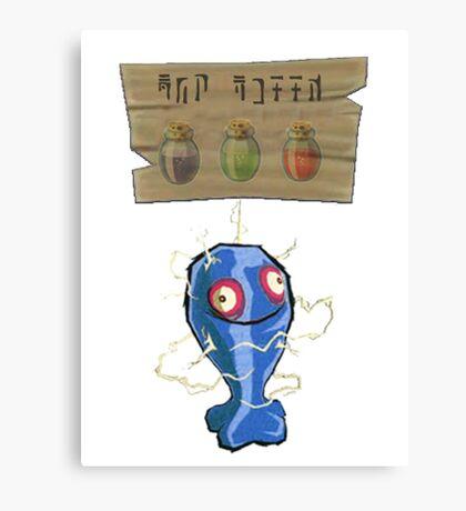 Chu Jelly Juice (Blue Chu) Canvas Print