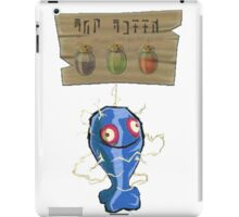 Chu Jelly Juice (Blue Chu) iPad Case/Skin