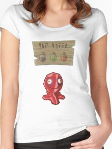 Chu Jelly Juice (Red Chu) Women's Fitted Scoop T-Shirt