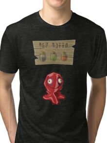 Chu Jelly Juice (Red Chu) Tri-blend T-Shirt