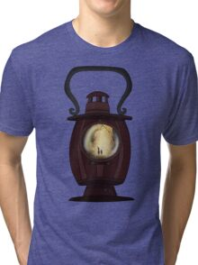 Do you take on the task of lantern bearer? Tri-blend T-Shirt
