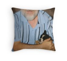 Maximus & Bella Throw Pillow