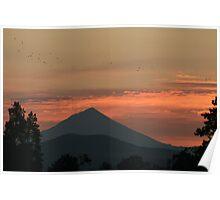 Rising Mount McLoughlin Poster