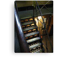 Stairway: Old Melbourne Gaol Canvas Print