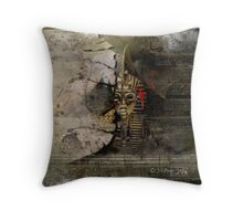 Murder in Tut's Palace Throw Pillow