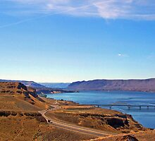 Columbia River by Tamara Valjean