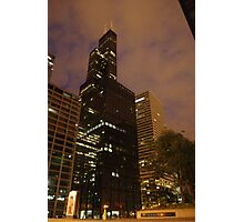 Evening HighRise Tower Photographic Print