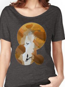 The best part of flying is the fall Women's Relaxed Fit T-Shirt