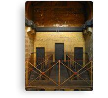 Door Trinity:Old Melbourne Gaol Canvas Print
