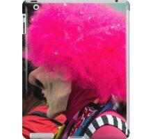 Man in a pink wig iPad Case/Skin