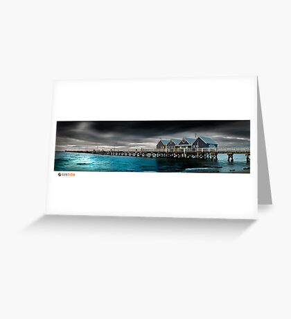 Busselton Jetty Greeting Card
