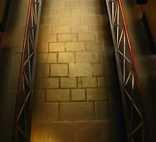 Walkway: Old Melbourne Gaol by Tania  Donald