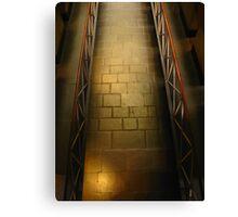 Walkway: Old Melbourne Gaol Canvas Print