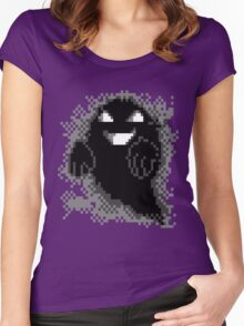 Lavender Town - Ghost Women's Fitted Scoop T-Shirt