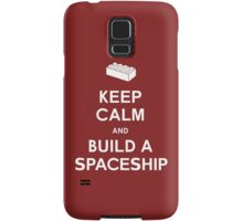 Keep Calm and Build a Spaceship Samsung Galaxy Case/Skin